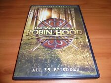 The Adventures Of Robin Hood Season 1 (3-Disc 2014 DVD) Used 1st First One