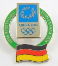 Athens Olympic Games 2004 Pin Badge - Official Country Flag By Trofe - Germany
