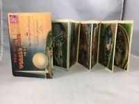 New York Worlds Fair 1939 Vintage Post Card Book Set 10 Card Set Posted