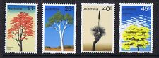 Australian Decimal Stamps 1978 Australian Trees Set 4 MNH