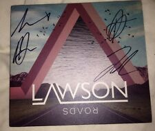 Lawson Fully Signed Roads Cd Single Pop Music Autograph 100% Genuine