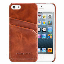 79e66a2cff838a Brown Case Cover for iPhone 5