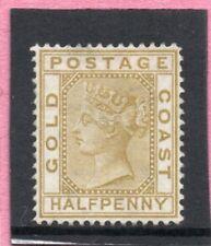 Gold Coast Vic. 1876-84 1/2d olive-yellow sg 4 H.Mint