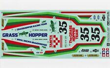 Hornet RC Sticker//Autocollant Costume pitbox//Boîte à outils Tamiya Grass Hopper BEATTIES