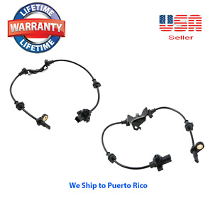 2 ABS Wheel Speed Sensor Front Right & Left :Fit:TSX 2009-2012 Accord 2008-2012