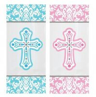 1st/FIRST COMMUNION Blue & Pink PARTY DECORATIONS {Amscan}(Banner/Balloon/Swirl)