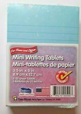 Writing Mini Legal Pads Blue 3.5