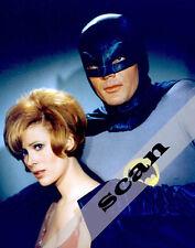 BATMAN TV SHOW Adam West with JAMES BOND GIRL Jill St John 8X10 PHOTO #710