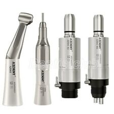 Dental Low Speed Handpiece Kit Contra Angle Straight Air Motor Fx 2hole 4holes