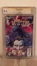 Batman Detective Comics #1 (Joker) CGC 9.6 AUTOGRAPHED by TONY S. DANIEL