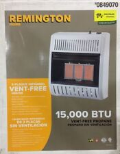 Remington 15000-BTU Wall or Floor-Mount Liquid Propane Vent-Free Infrared Heater