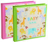 "Kenro Baby Zoo Series Memo Album With Gift Box 120 photos 6x4"" Green and Pink"