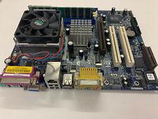 Carte mère complète ASROCK K7S41GX + Processeur + Ram + Docs