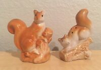 Vintage Squirrel Salt and Pepper Shakers Set Collectible Kitchen