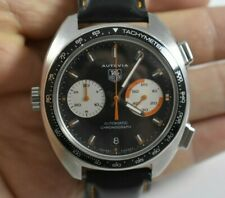 BEST DEAL! Tag Heuer Autavia Automatic Chronograph CY2111 Mens Wrist Watch lot.q