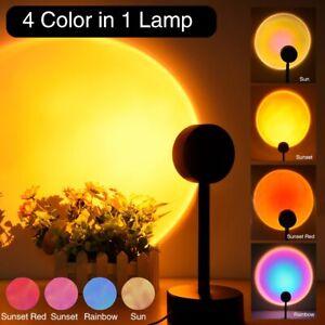 Bring Modern Sunset Lamp Sunset Projector Mood Light Living Room Bedroom Night L