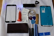 Samsung Note 2 Grey Front Glass, Screen Repair Kit, Loca Glue, Wire, Uv Torch