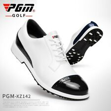 Pgm Golf Shoes Men Waterproof Leather Golf Shoes Spikes Non- Slip Sports Sneaker