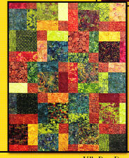 PATTERN - Tuscan Sun - pieced quilt mini PATTERN - Villa Rosa Designs