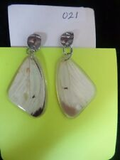 Handmade REAL Butterfly Earrings Imported Colombia #21