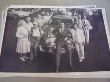 1948 TUCKER MOVIE CREW AN CAR    12 X 18 LARGE PICTURE / PHOTO