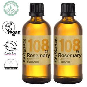 Naissance Huile Essentielle de Romarin - 200ml (2 x 100ml) 100% pure & naturelle