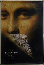THE DA VINCI CODE DS ROLLED TSR ORIG 1SH MOVIE POSTER TOM HANKS JEAN RENO (2006)