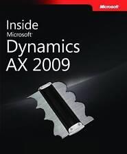 Brand New Inside Microsoft Dynamics AX 2009- The Microsoft Dynamics AX Team