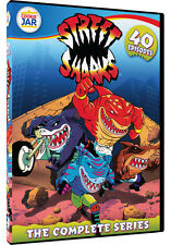 Street Sharks . The Complete Series . 40 Episodes . Animated . 4 DVD . NEU
