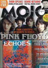 MOJO March 2013 + ECHOES CD Pink Floyd GRAM PARSONS Alicia Keys DAVID BOWIE @New