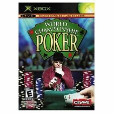 World Championship Poker Texas Hold Em+Omaha++ XBOX NEW