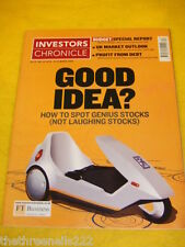 INVESTORS CHRONICLE - HOW TO SPOT GENIUS STOCKS - MARCH 19 2004
