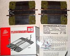 Fleischmann H0 Bahnübergang 6099