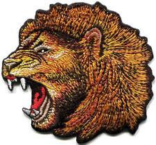 Lion cat puma jaguar tiger cheetah animal wildlife applique iron-on patch S-815