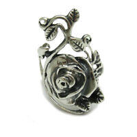STERLING SILVER RING SOLID 925 FLOWER ROSE NEW SIZE G - Z EMPRESS