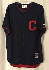 Cleveland Indians Authentic Majestic 2014 2015 Spring / BP C Jersey 48/XL