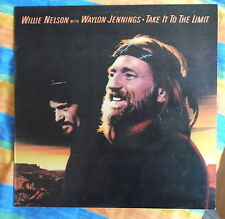 Willie Nelson with waylon Jennings Czech supraphon LP: take it to the Limit