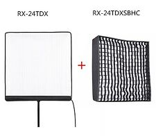 Falcon Eyes RX-24TDX + Soft Box 150W Roll-Flex LED Bi-Color 3000K-5600K Light