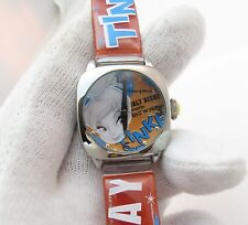 TINKERBELL, Disney, Classic Round Dial, RARE LADIES CHARACTER WATCH,789, L@@K!