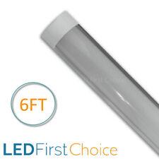 LED Batten Slimline Tube Light UK 6FT Strip Lights Wall Or Ceiling Mount IP20