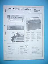 Service-Manual-Anleitung für Saba Transatlantic 18 automatic ,ORIGINAL!