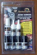 1x Kit de primera calidad técnica de la CIA Activador Pegamento Adhesivo Removedor De Imprimación Relleno