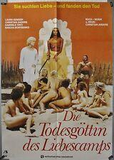 L23 - Laura Gemser - DIE TODESGÖTTIN  DES LIEBESCAMPS - Original Kinoplakat