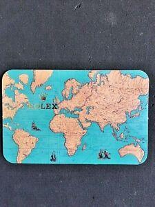 Genuine Vintage Rolex Calender Card . 1997-1998.