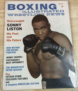 Boxing Illustrated Wrestling News Magazine June/61 Sonny Liston The Black Prince