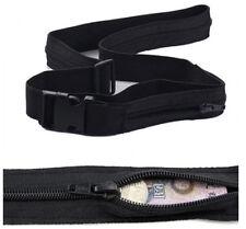 Travel Anti Theft Wallet Belt with Secret Compartment Hiding Stash Money Belt