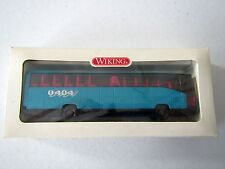 Mercedes-Benz Bus O 404 turquoise Wiking 71402 1:87 HO Scale
