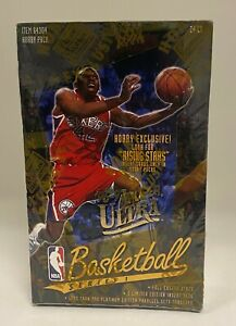 1996-97 Fleer Ultra Basketball Series 1 Sealed Hobby Box Kobe Bryant RC YR