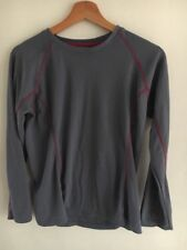 Peter Storm Size 12 Base Layer Grey Stretch Long Sleeve <T16317