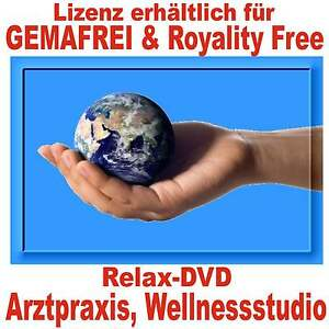 Relax DVD ideal für Arztpraxis, Warteräume, Monitor-Ablenkung Patient, Wellness